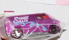 HOT WHEELS 1ST ANNUAL SUMMER SMASH 2008 CUSTOM CAR CUSTOM 77 DODGE VAN LOOSE