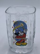 New Listing2000 Walt Disney World Mickey Mouse Wizard McDonalds Epcot Anniversary Glass