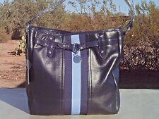 NEW! Blue [TOMMY HILFIGER] Shoulder Tote Bucket Handbag Travel HOBO Bag