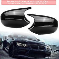 M3 Style Side Mirror Cover Caps Replaces For BMW E90 E91 E92 E93 Pre-LCI 05-07