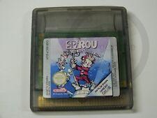 !!! Gameboy Color Jeu SPIROU d'occasion, mais bien!!!