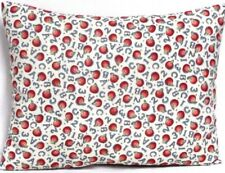 Toddler Pillow for alphabet&numbers on Off-white 100%Cotton #S3-1 New Handmade