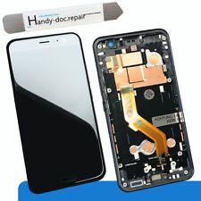 LCD per HTC u11 nero display completamente unità con chassis QUADRO BLACK