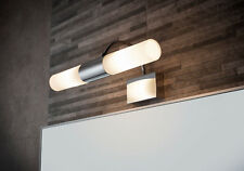 Sensio SE34091W0 Phoenix Ip44 Double LED Tube Over Mirror Bathroom Wall Light