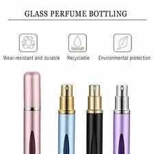 4 Colores 5ml Perfume Aroma Split Portátil de Viaje Spray Vacío Frasco de Vidrio 4 un.