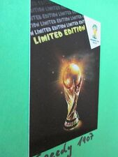 FIFA World Cup Brasil  2014 Limited edition Trophy  WM 14 Panini Adrenalyn