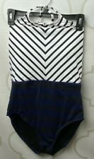 Tommy Bahama Channel Surfing High-Neck Womens Swimsuit New Size 10