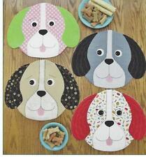 Puppy Party applique placemat quilt pattern by Susie C. Shore Designs