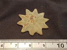 Very rare indeed Roman bronze Spur Rowel stunning little military item, York L18