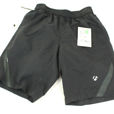 Trek / Bontrager Men's Dual Sport Short With Padded Liner Black Size S