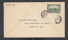 CANADA 1935 10C WINDSOR CASTLE FIRST DAY COVER MONTREAL QUEBEC