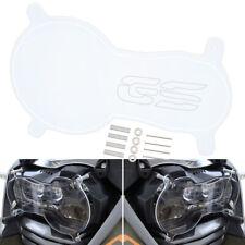 3mm Clear Acrylic Headlight Guard Protector For BMW R1200GS & GSA LC LED 2013-18