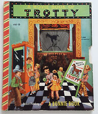 TROTTY-BONNIE BOOK #4157 (1951) FIRST EDITION!-COMPLETE TV WHEEL-LITTLE GOLDEN