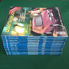 Lotto 12 Riviste/Magazine QUATTRORUOTE ANNATA 1995 COMPLETA !!!