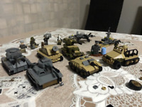 WW2 Military Weapons German Tank Aircraft SET Compatible with Minifigures Used