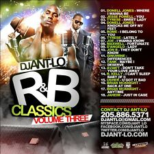 DJ ANT LO SOUL & R&B CLASSICS MIX CD VOL 3