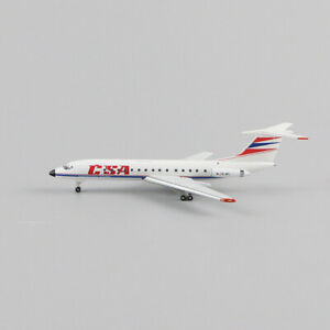1/500 Herpa 532945 CSA-Czechoslovak Airlines Tupolev TU-134A-3 Aircraft Model