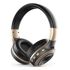 Bluetooth Stereo Hifi Headphone Wireless Headset FM Radio LCD Display Handsfree