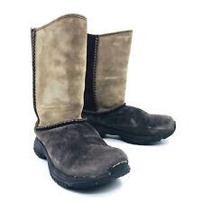 Merrell Encore Stitch Brown Tan Winter Snow Boots Womens Size 7