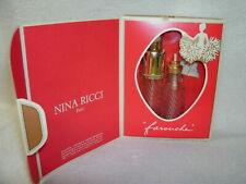 Nina Ricci---FAROUCHE--Purse Spray & Refill Bottles with Box-France--Vintage