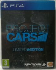 Project Cars. Limited Edition. Ps4. Fisico. Pal Es. Steelbook