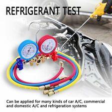 manifold climatisation manomètre 2 voie gaz Frigoriste R134a, R404a, R407C, R22