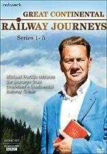 Great CONTINENTAL Railways Journeys Series 1 - 5 DVD Region 2
