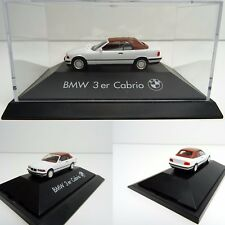 Herpa 1/87 bmw 3er e36 convertible SoftTop blanco OVP c3083