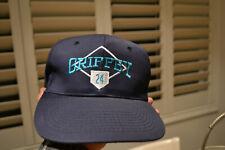 Vintage Ken Griffey Jr. #24 Mariners Snapback Hat NEW MLB Baseball NEVER WORN