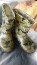 Child's camouflage wellington boots size 7