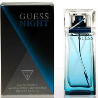 GUESS NIGHT men 3.4 oz edt cologne spray NEW IN BOX