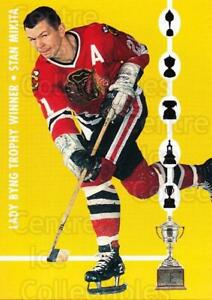 1995 Parkhurst 66-67 Mail-Ins Trophy Winners #3 Stan Mikita