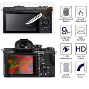 LCD Screen Protector Tempered Glass Shield Guard Film for All SONY Camera Series