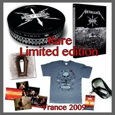 SEALED LIMITED EDITION METALLICA BOX SET 2009 FRANCAIS POUR UNE NUIT