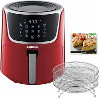 GoWISE USA 7-Qt. Extra Large Electric Air Fryer with Dehydrator - Red  | GW22957