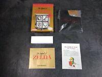 NES The Legend of Zelda Nintendo Entertainment System, 1987 CIB Complete in Box!