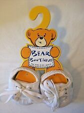 Build-a-Bear Bear Bootique Skecher Tennis Sneakers Gym Shoes White Workshop