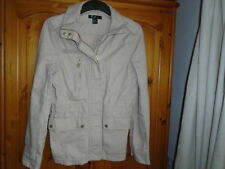 H&M Patternless Zip Hip Length Coats & Jackets for Women