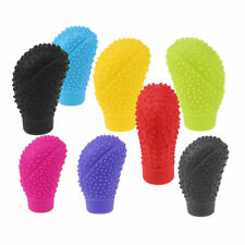 Anti-Slip Elasticity Soft Silicone Car Gear Shift Knobs Lever Cover Color for VW
