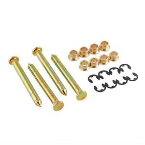 Door Hinge Pins Pin Bushing Kit Fit For Ford F150 F250 F350 Bronco