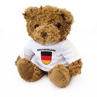 NEW - German Flag Teddy Bear - Germany Fan Gift Present Deutschland
