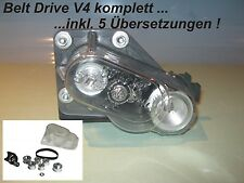 Belt Drive V4 komplett mit  5 Untersetzungen Reely Carbon Fighter / Breaker Top
