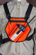High Viz Radio Pack VHF - UHF, Radio Chest Pack, Radio Pack, High Visibility