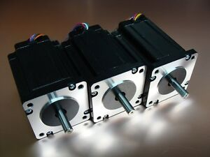 3 Stepper Motor 4Nm Nema23 566oz 1yr Warranty cnc parts