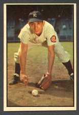 Billy Martin 1953 Bowman Color Baseball #118 Yankees VG/EX
