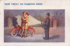 Comic Motorcycling No Parking Here Reg Maurice