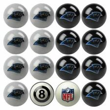 NEW Licensed NFL Carolina Panthers Football Billiard Pool Cue Ball Set FREE SHIP
