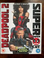 Deadpool 2 Blu-ray 2018 Marvel Universe Superhero Movie 2-Discs w/ Slipcover