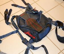 Javelin SJ4 skydiving parachute container for 190 canopies, adjustable harness