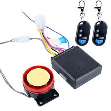 Motorcycle Scooter Anti-theft Alarm Security System Engine Start Remote Control